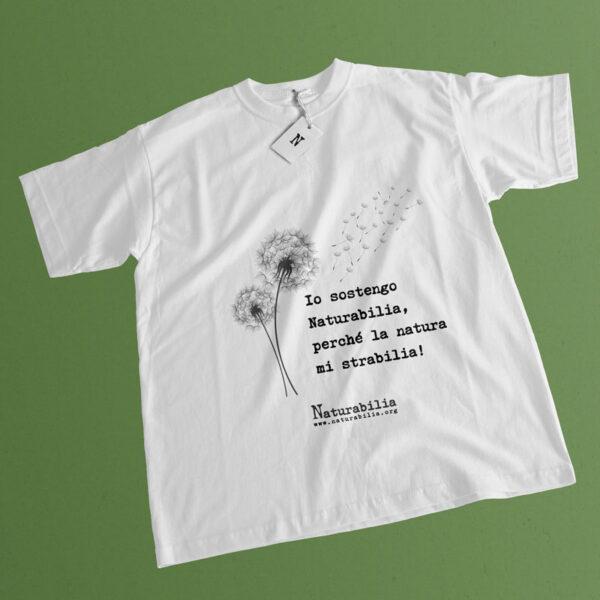 T-shirt Naturabilia bianca